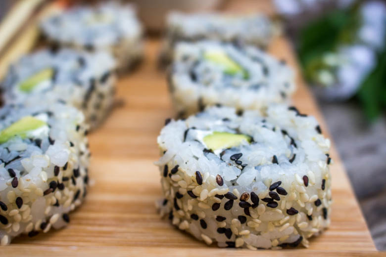 California Roll Avocat Cream Cheese